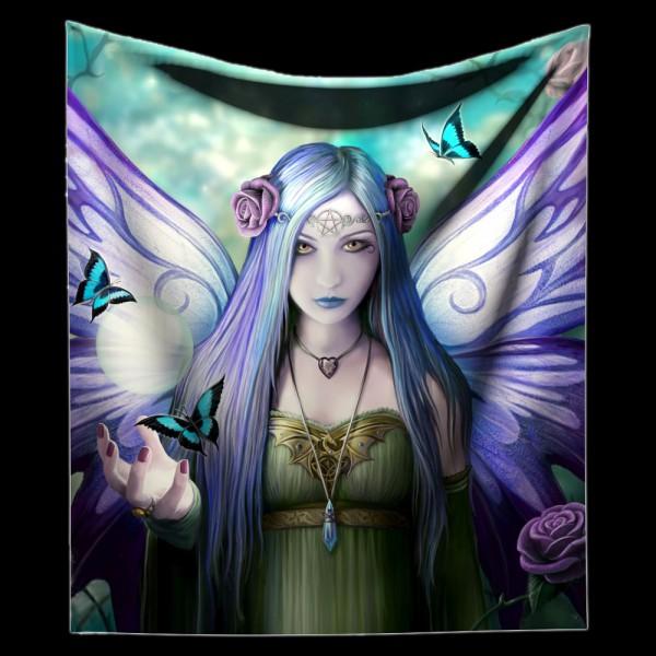 Kuschelige Decke mit Elfe - Mystic Aura