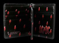AC/DC Geldbeutel - Black Ice