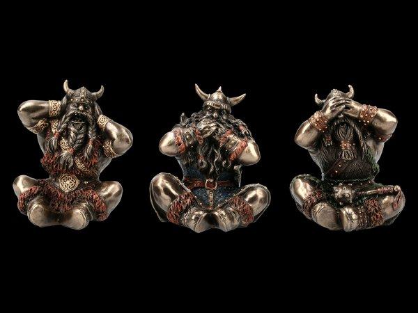 Viking Figurine Set - No Evil