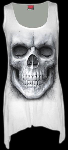 Solemn Skull - Gothic Gothbottom Vest Women