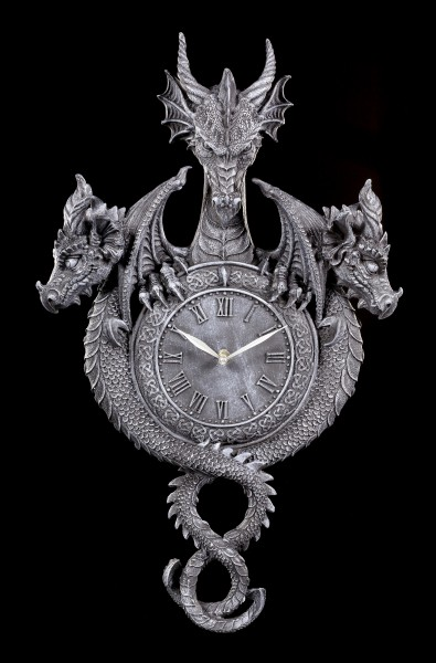 Dragon Wall Clock - Guardians of the Time
