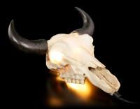 Wandlampe - Bullenschädel by Markus Mayer
