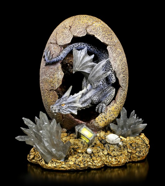 Dragon Figurine - Novus hatches from Egg