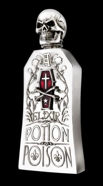 Alchemy Totenkopf Flachmann - Alchemist Potion Bottle