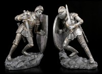 Knights Bookends Set