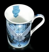 Porzellan Tasse mit Eule - Awaken your Magic