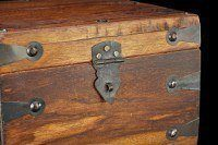 Medieval Wooden Chest - Rectangulary