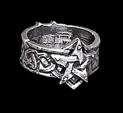 Alchemy Gothic Ring - Celtic Theurgy Ring