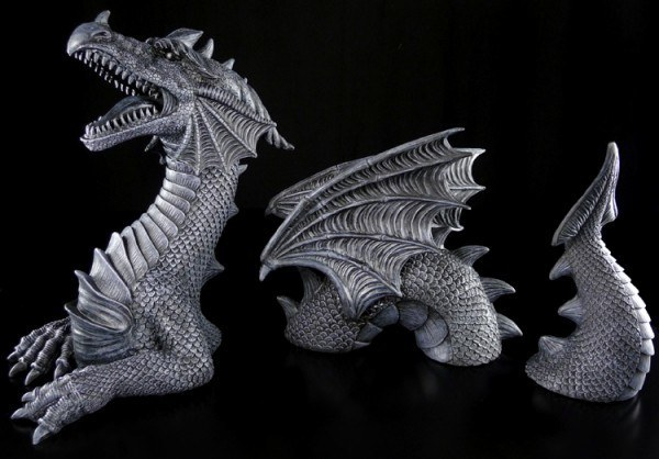 Dragon Set black - In - & Outdoor