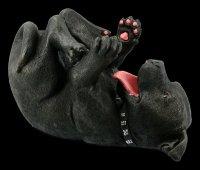 Staffordshire Bullterrier Figur als Flaschenhalter