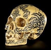Totenkopf - Keltisches Tribal Design