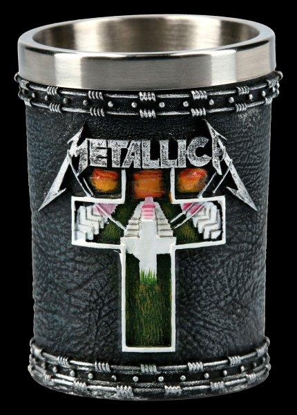 Metallica Schnapsbecher - Master of Puppets