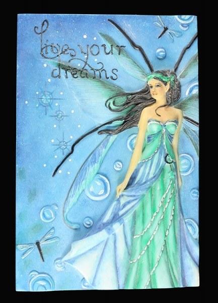Elfen Wandrelief - Live Your Dreams