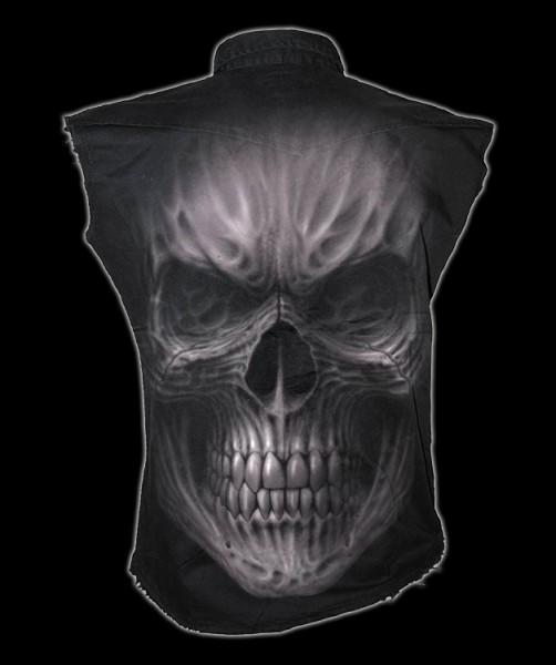 Ärmelloses Worker Shirt - Totenkopf Death Rage