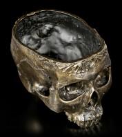 Flowerpot - Human Skull