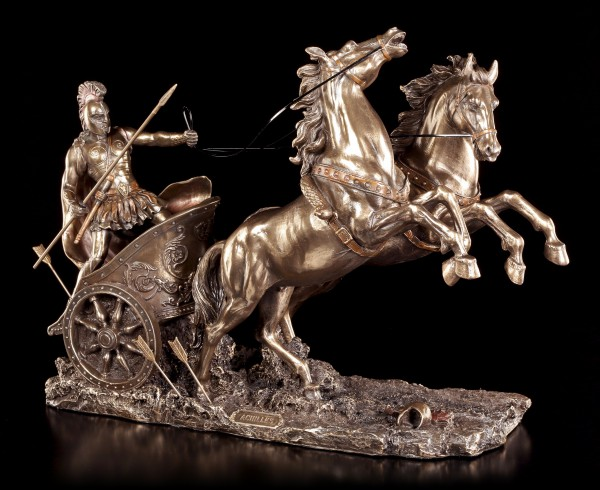 Achilles Figur - Im Streitwagen zum Kampf