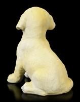 Dog Garden Figurine - Cute Labrador Puppy