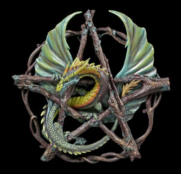 Forest Pentagram Dragon - Anne Stokes