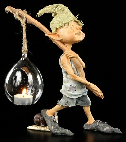 Pixie Goblin Figurine - Tealightholder