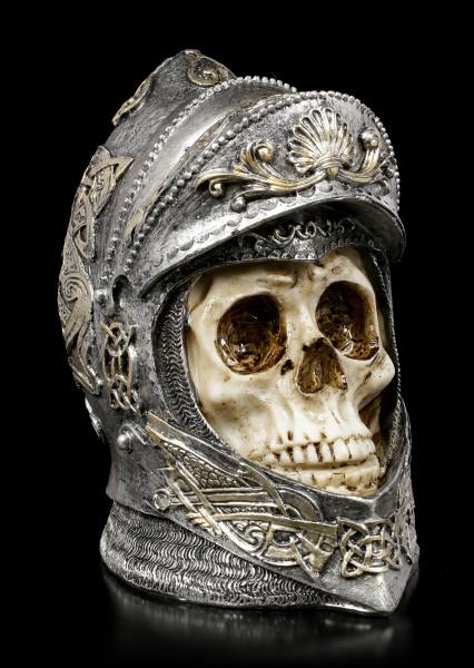 Skull - Knight with opened Helmed