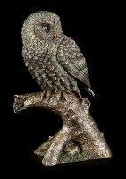 Owl Figurine sitting on Knag