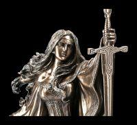 Nimue Figurine - Lady of the Lake - bronzed