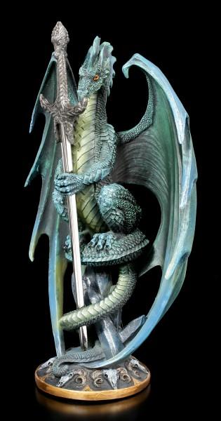 Letter Opener Dragon - Skull Blade