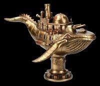 Steampunk Whale Figurine - Marine Machine