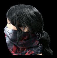 Multifunktions-Gesichtstuch - Blood Rose