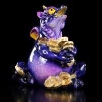 Lucky Dragon with Money - glazed