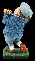 Funny Sports Figurine - Golfer at the Tee