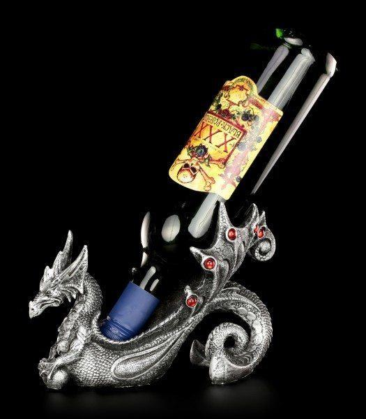 Flaschenhalter - Drachen Weinwächter