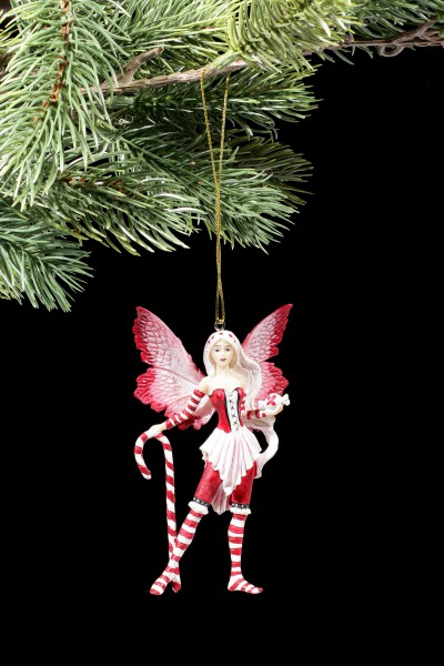 Christmas Tree Decorations - Peppermint Fairy