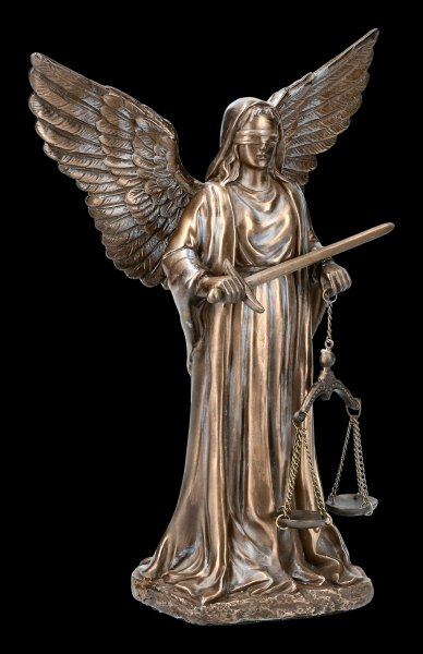 Themis Figurine with Angel Wings