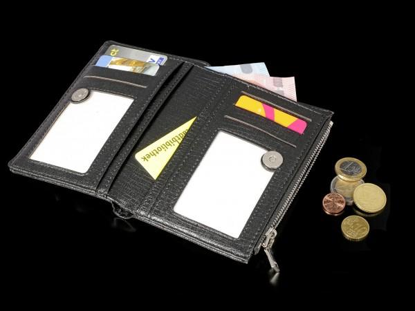 Wallet with 3D Cat - Snow Kitten