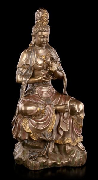Kuan Yin Figur - Weiblicher Bodhisattva des Mitgefühls