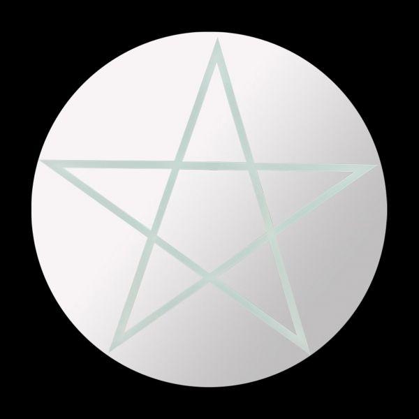 Spiegel - Rundes Pentagramm