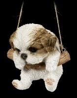 Hanging Dog Figurine - Shih Tzu Puppy