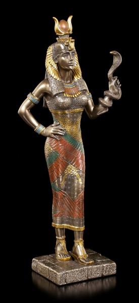 Hathor Figurine - Egyptian Goddess with Cobra