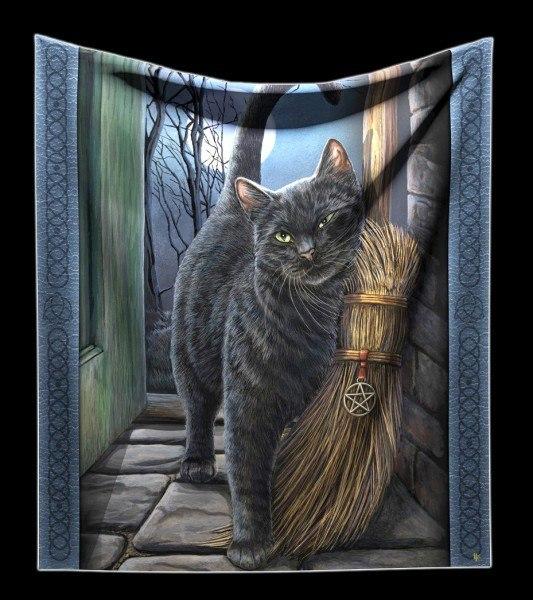 Kuschelige Decke mit Katze - A Brush with Magic