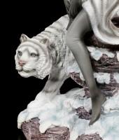 Elfen Figur - Kassandra mit Tiger