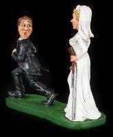 Till death do us part - Funny Wedding Figurine
