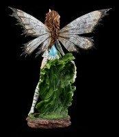 Große Elfen Figur - Tiger Lily weiß