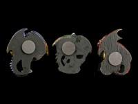 Drachen Kühlschrank Magnete 3er Set - Cold Kings