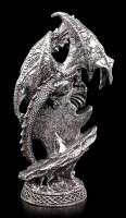 Drachen Figur - Arokh mit Drachenwappen
