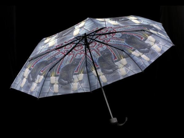 Umbrella with Cat - Sacred Circle