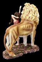 Fairy Figurine - Sari with Lion