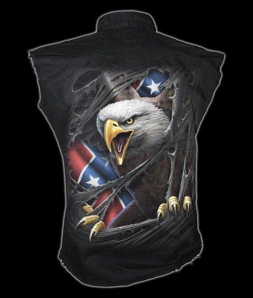 Ärmelloses Worker Shirt - Rebel Eagle