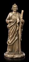 Small St. Jude Thaddeus Figurine - bronzed