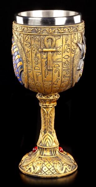 Goblet - Egyptian God Anubis
